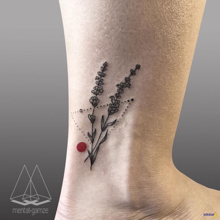 Татуировки на зависть - 86 - Красная точка