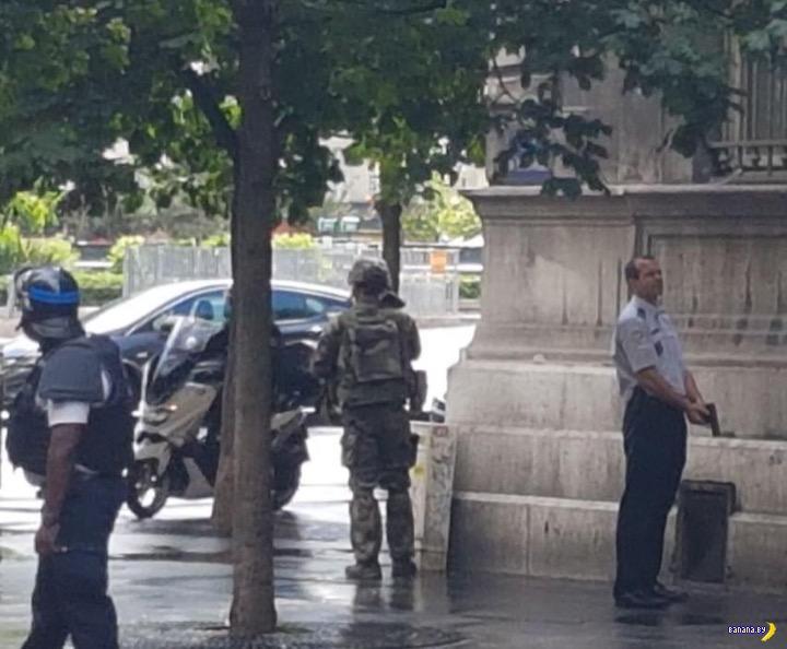 Теракт в соборе Нотр-Дам в Париже