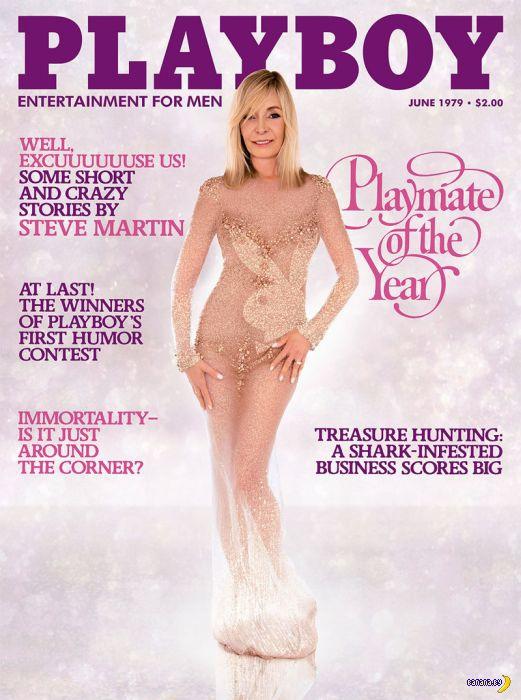 Звезды Playboy на обложках: тогда и сейчас