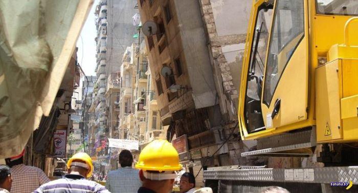 Египетский упавший небоскрёб – продолжение истории!