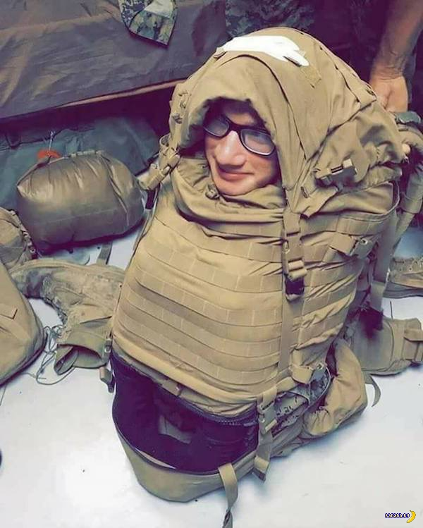 Американский морпех стал героем!