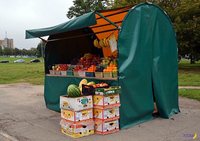 Минские власти против фруктово-овощных палаток
