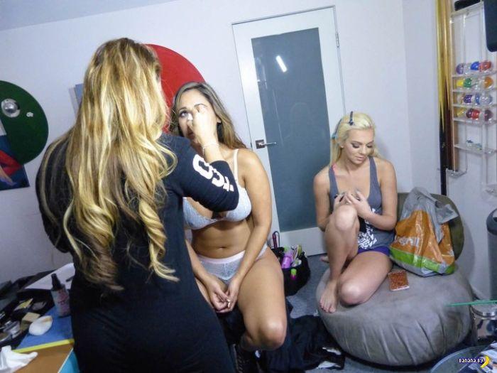 Съемки порно –за кадром