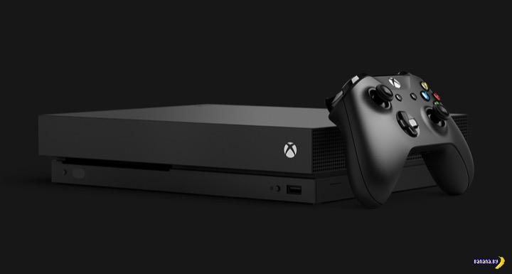 Microsoft показал Xbox One X