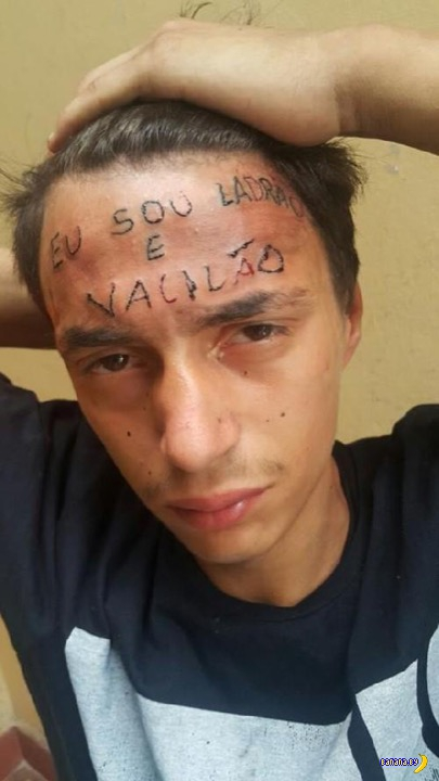 Бразильское правосудие и тату-машинка