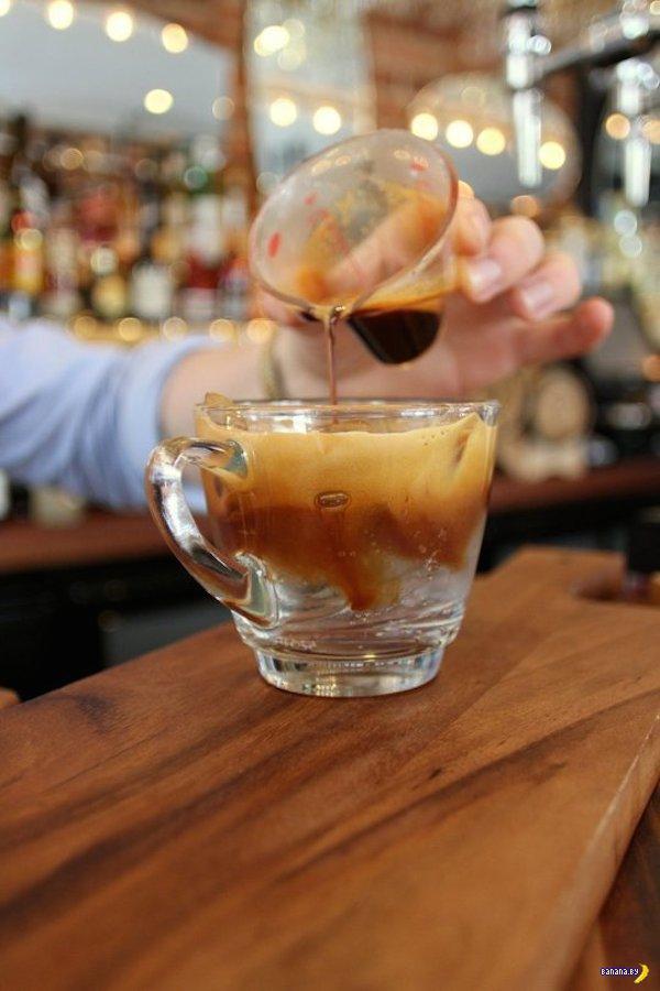 Странные напитки на основе кофе
