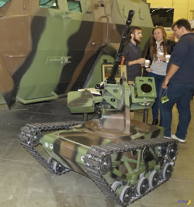 Перспективные украинские боевые роботы