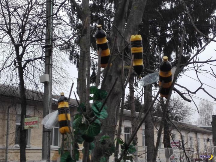 Двор областной психушки в Виннице