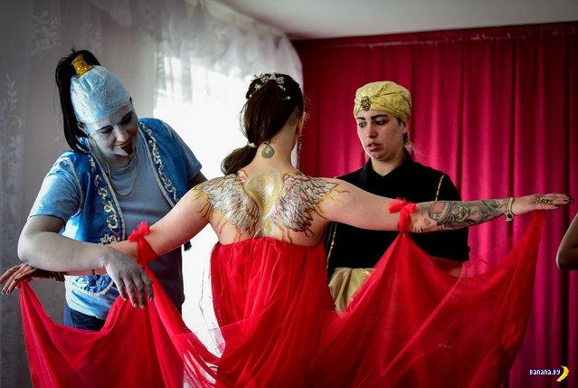 Fashion Show в женской колонии