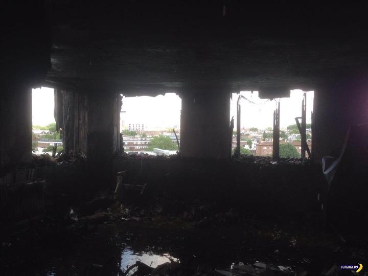 Grenfell Tower - фотографии из сгоревших квартир