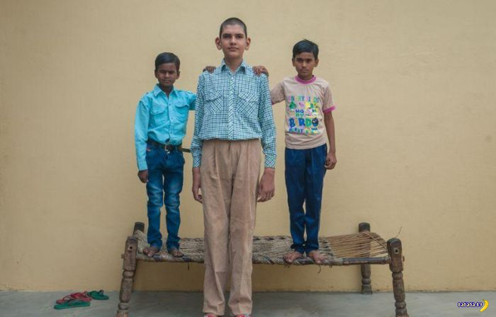 Самый высокий мальчик в мире