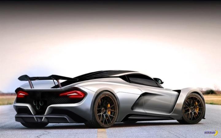 Прокачали Hennessey Venom F5