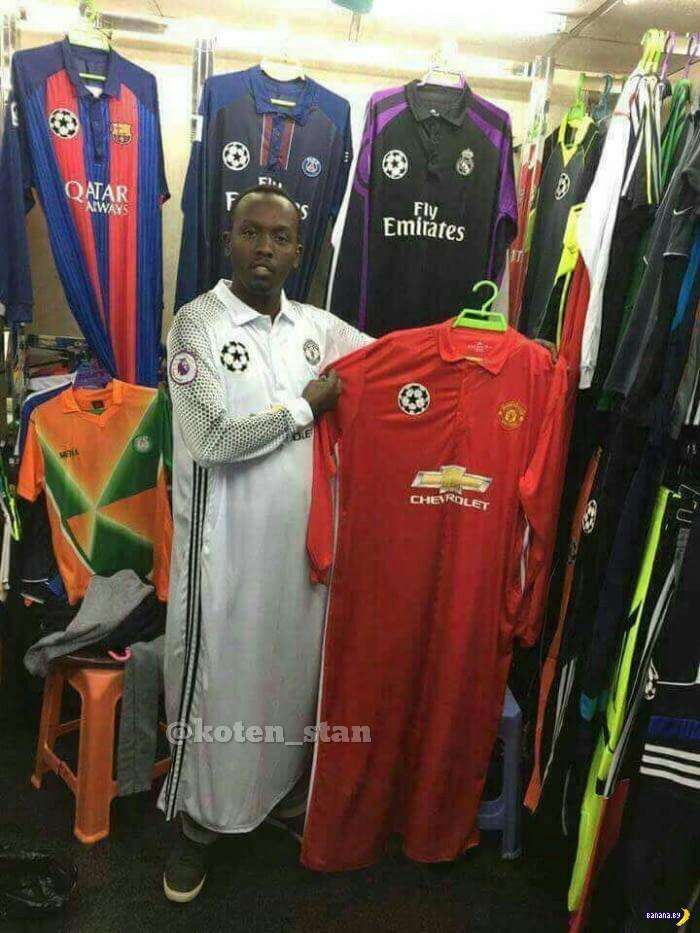 Покупка футболок в арабских странах