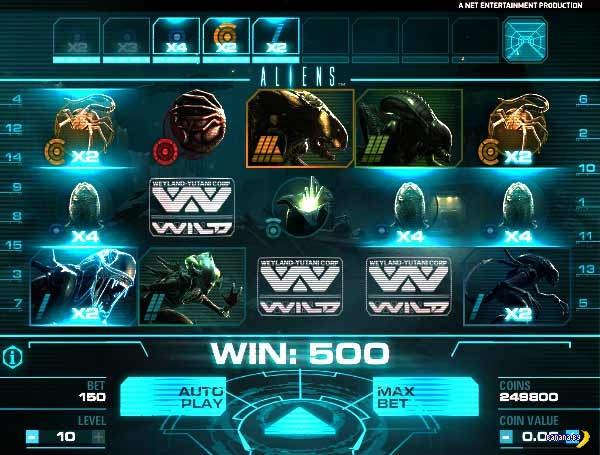 Игровой автомат Aliens
