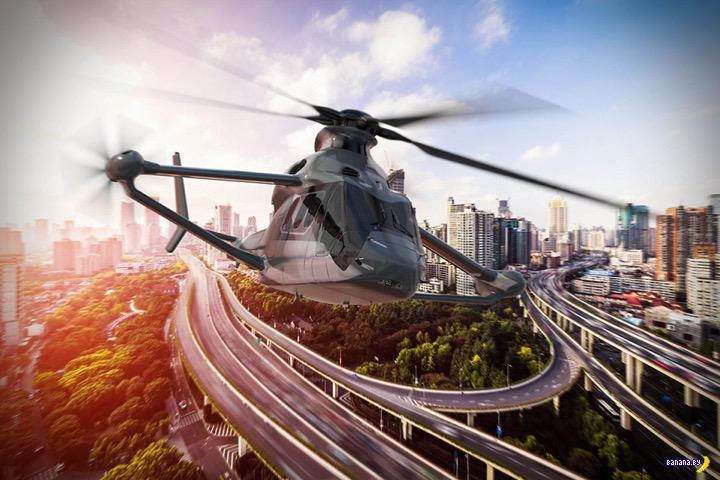 Airbus займётся вертолётами