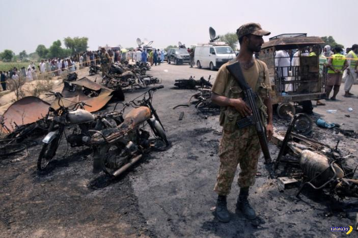 160+ сгоревших пакистанцев