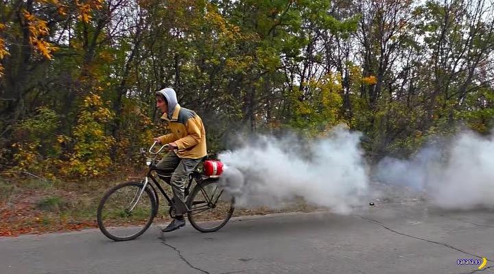Мстительный велосипедист