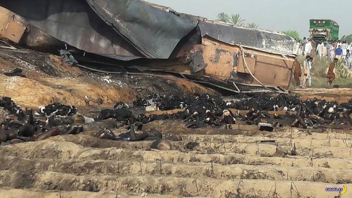 Жёсткое фото с пакистанского пожара