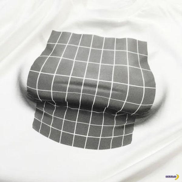 Сиськи и оптическая иллюзия