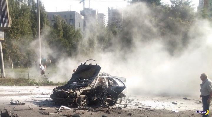 В Киеве снова кого-то взорвали