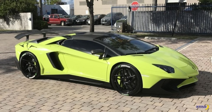 Набор Lamborghini для богатеньких