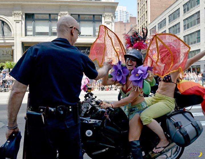 В Нью-Йорке прошёл гей-парад