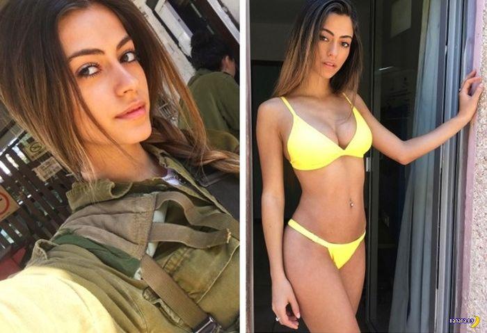 Симпатичные мордашки израильской военщины