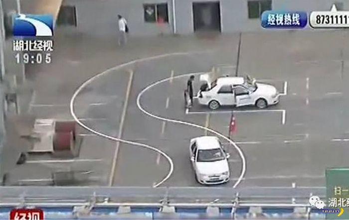 Закрыли площадку для уроков вождения