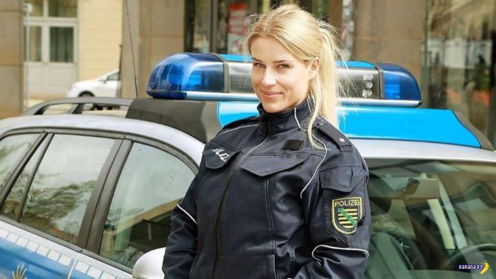 Краса немецкой полиции Адриенна Колежар