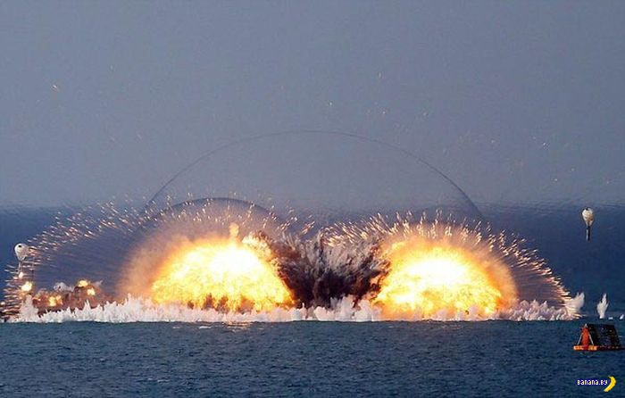 Термобарические бомбы и красота их взрывов