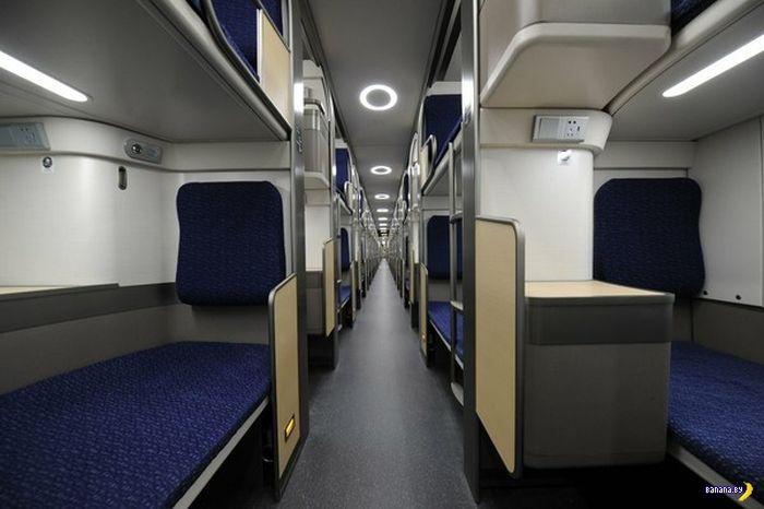 Китайский вагон купе/плацкарт