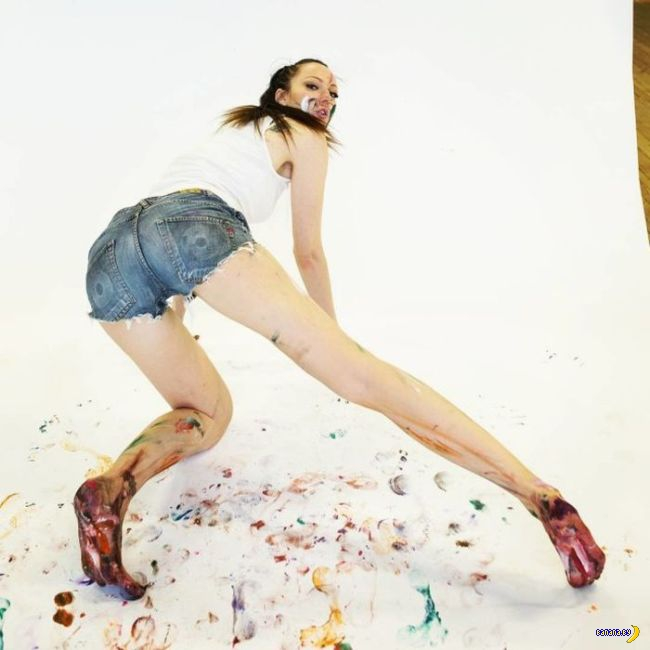 Бесконечно длинные ноги Лисиной