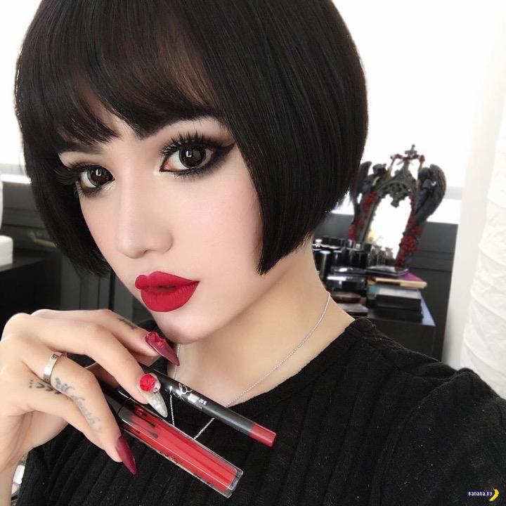 Китайская живая кукла Кина Шен