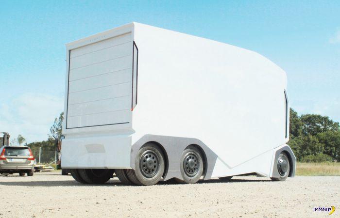 T-Pod - грузовик без кабины и водителя