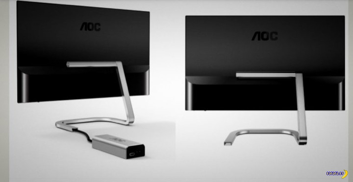 Porsche  Design создал монитор для AOC