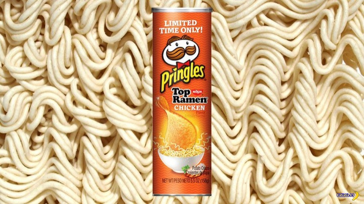 Мечта студента –чипсы со вкусом бомж-пакета!