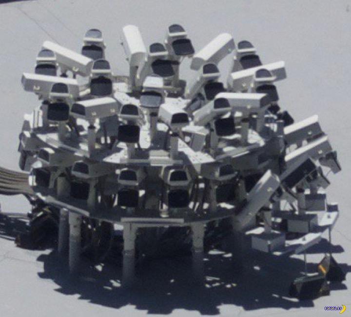 Странные камеры наблюдения в Вегасе