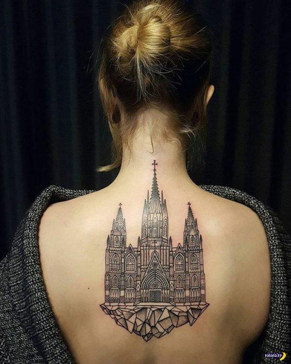 Татуировки на зависть - 88 - Архитектура на коже