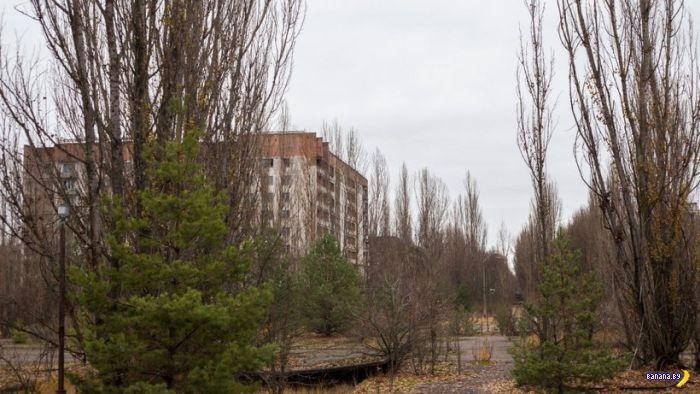 Город Припять до и после аварии на ЧАЭС