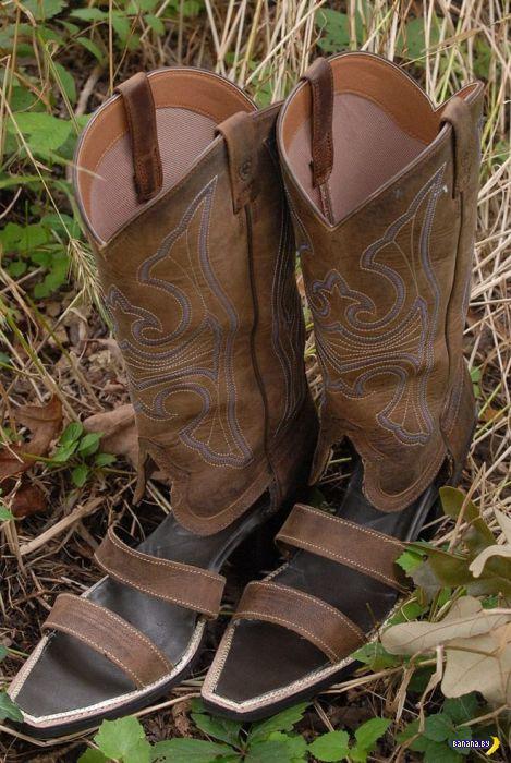 Ковбойские сандали