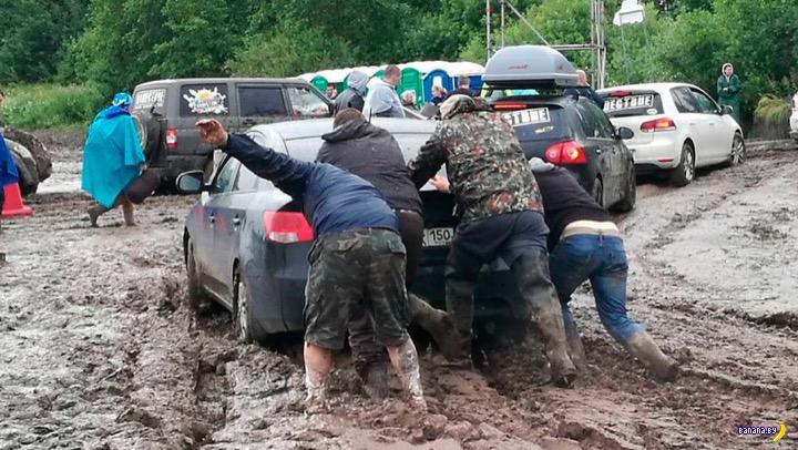 Беларусы отлично заработали на «Нашествии»