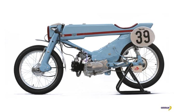 1961 Honda Super Cub в новом воплощении