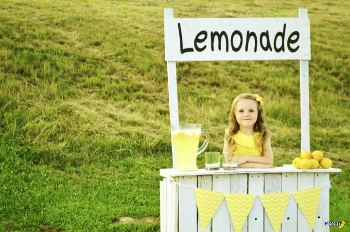 Конец лимонадной империи 5-летней девочки