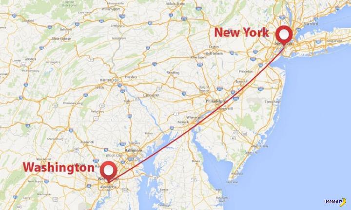 Из Нью-Йорка в Вашингтон на Hyperloop!