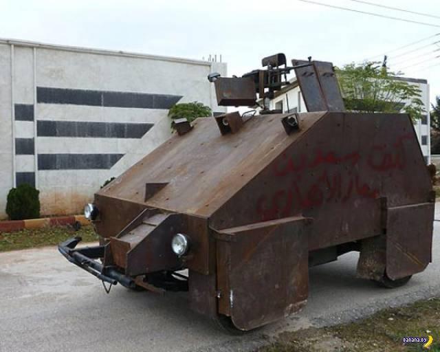 Новости гаражных танкостроителей