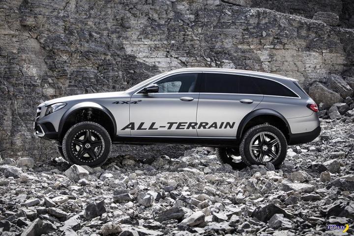 Mercedes E-Class All-Terrain 4×4²
