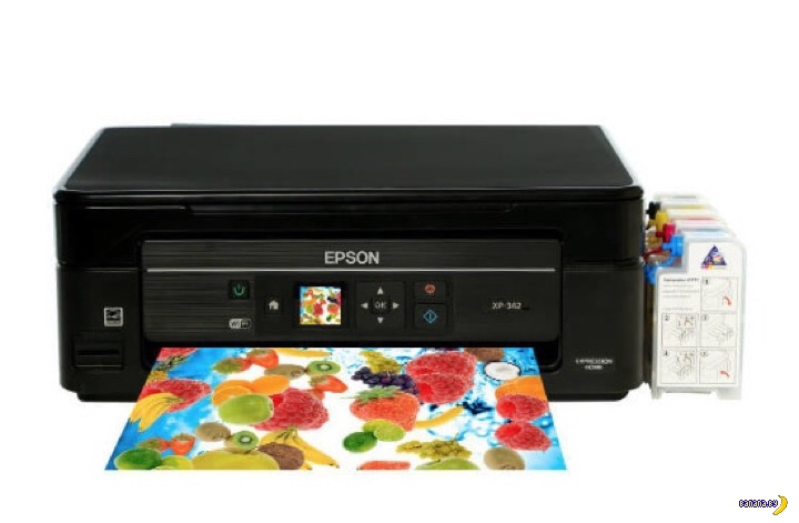 МФУ EPSON EXPRESSION HOME XP-342: качественная печать у вас дома