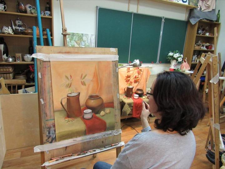 Зачем обучаться в школе рисования