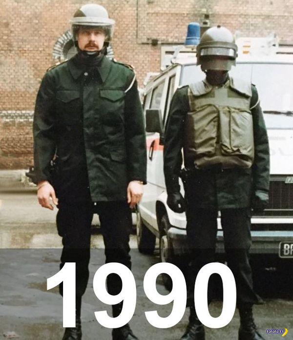 Эволюция полиции/милиции
