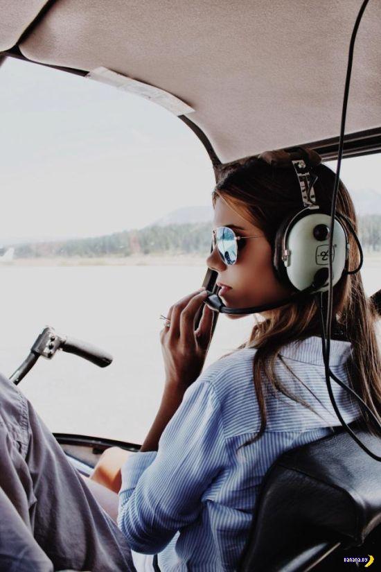 Не пилотка, а пилотесса!